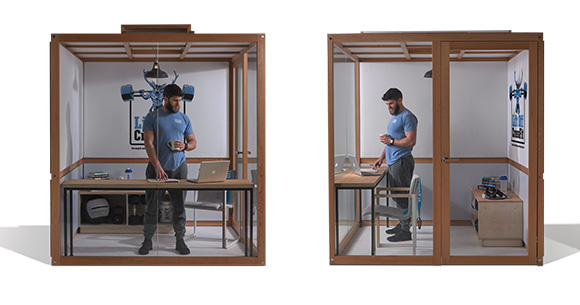 Acoustic Pods for quiet work spaces from Acoustic Hubs