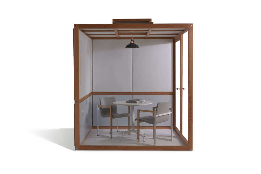The Hub acoustic pod for quiet offices, workspace and meeting rooms