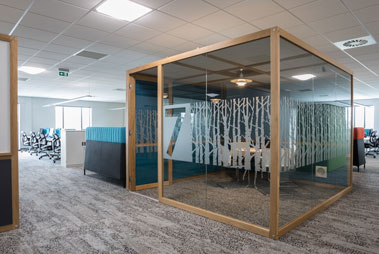 Acoustic Hubs | Acoustic Pods | Quiet Office Workspace & Meeting Rooms
